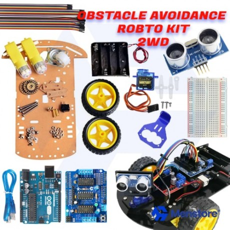 Obstacle Avoidance 2WD Smart Robot Car Kit - Pack C