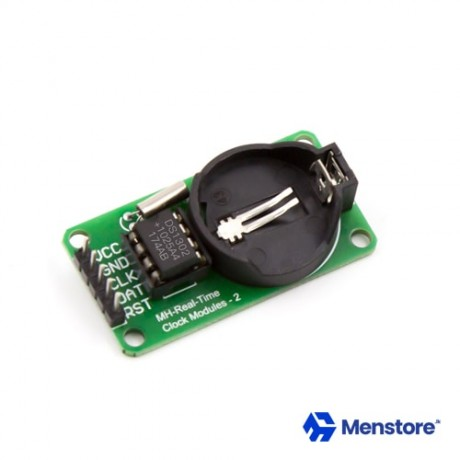 RTC DS1302 Real Time Clock Module with Battery