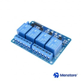 4 Channel Relay Module with Opto-Isolator Protection (5V DC)