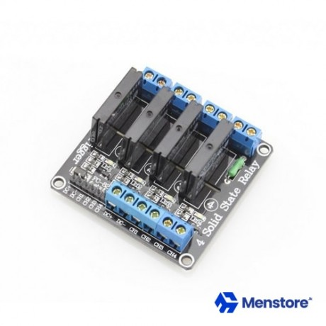 4 Channel Solid State Relay Module ( 4CH SSR Module 5V DC)