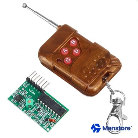 4 Channel 315MHz Wireless Receiver With Remote