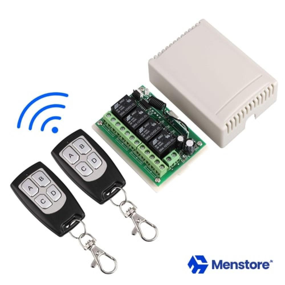 4CH Channel 433 Mhz Wireless Remote Control