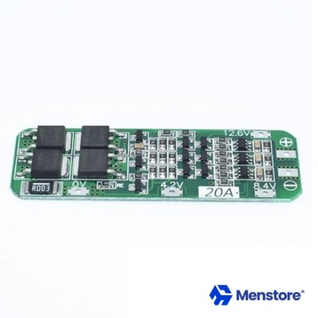 18650 3S 12V 20A BMS Charger Li-Ion Lithium Battery Protection Board