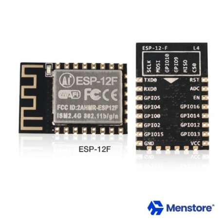 Ai-Thinker ESP-12F, WiFi Module Based On ESP8266, Built-In 32Mbit Flash, SMD22 Module