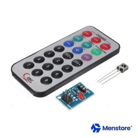 HX1838 IR Remote Control Module White