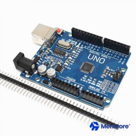 Arduino Compatible UNO R3 ATmega328P CH340G USB Driver Board & USB Cable