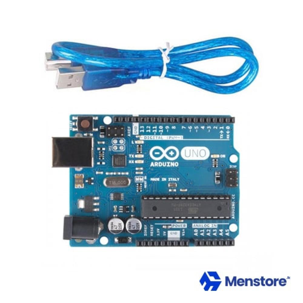 Arduino UNO R3 Original Board MEGA328P ATMEGA16U2 with USB Cable