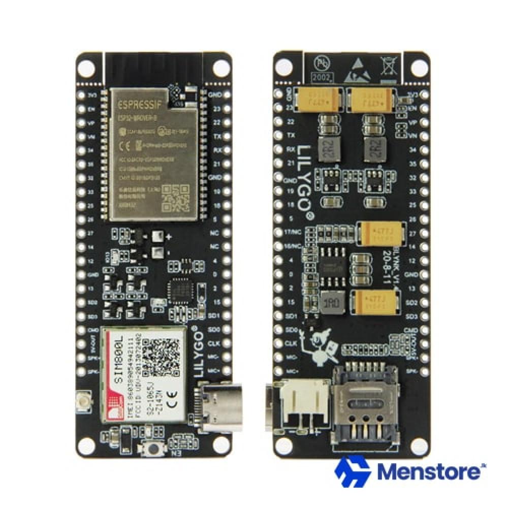 LILYGO TTGO T-Call V1.4 ESP32 Wireless Module SIM Antenna SIM Card SIM800L Module