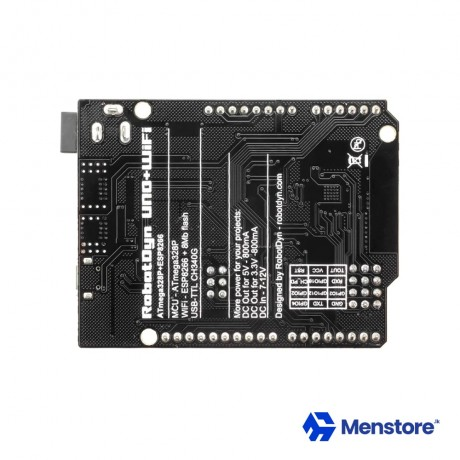 UNO Wi-Fi R3 ATmega328P ESP8266 32Mb Memory USB-TTL CH340G