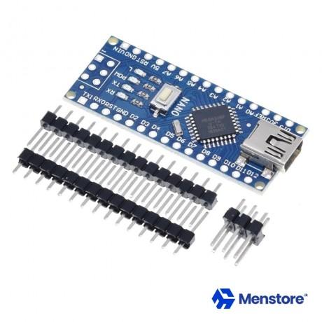 Arduino Nano V3.0 CH340G Non-Soldered With Mini USB Cable
