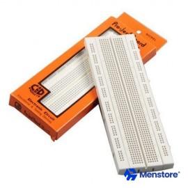 Breadboard 840 Tie Point 16.5x5.5x0.85 Cm