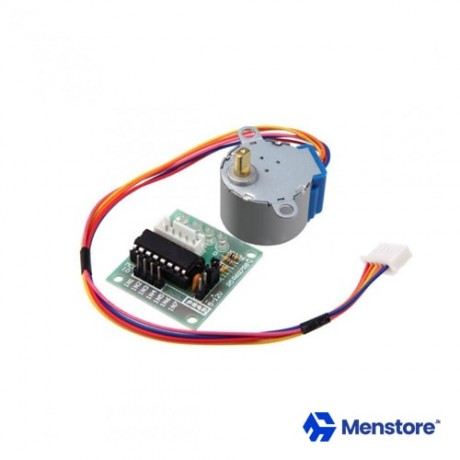 Gear Stepper Motor DC 5V 4 Phase 28BYJ-48 With ULN2003 Driver Module