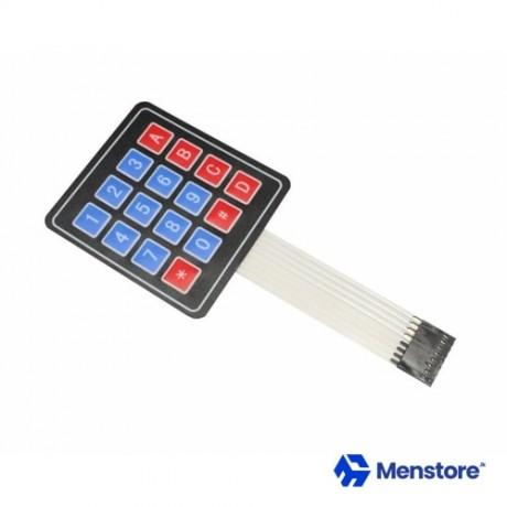 Membrane Switch Keypad 4X4 Matrix Array 16 Key