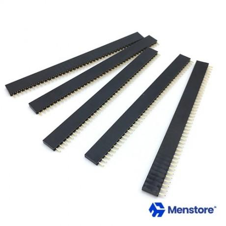 Female Pin Header Breakable Strip 2.54mm 1x40 1Pcs