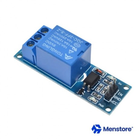 1 Channel Relay Module with Opto-Isolator Protection (5V DC)