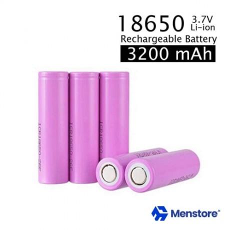 18650 3.7V 3200mah Rechargeable Li-ion Battery