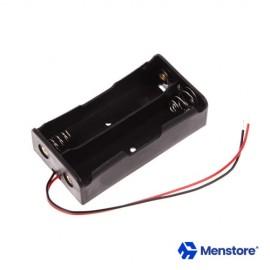 18650 Battery Holder Storage Case For 2 Batteries