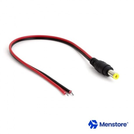DC Jack Connectors Male 5.5mm X 2.1mm