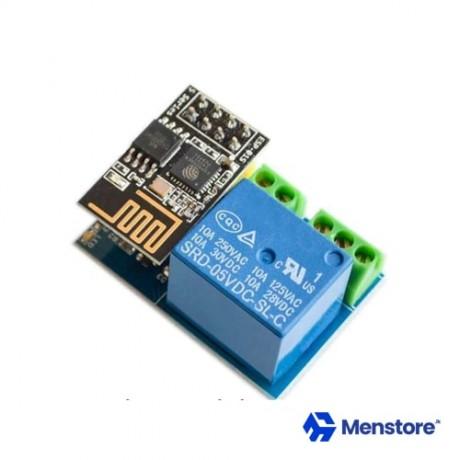 ESP-01S WiFi Based Smart Relay Switch Module