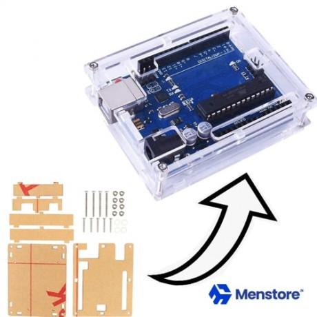 Transparent Arduino Uno Enclosure Box