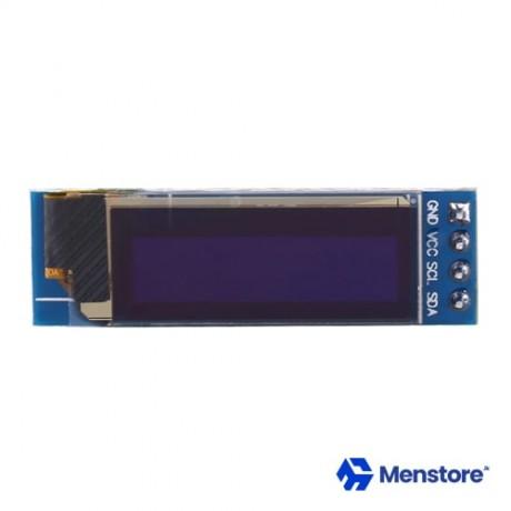 0.91 inch 128X32 OLED Display Module I2C IIC Serial Blue 3.3-5V