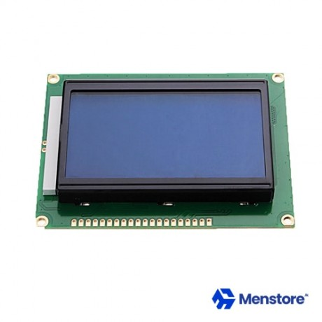 LCD 128x64 Dots Graphic Blue Back Light Display
