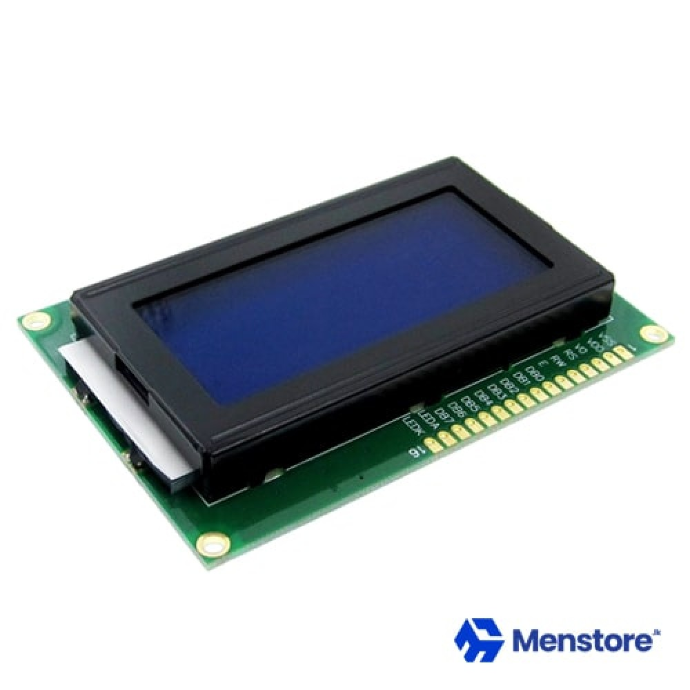 LCD 1604 16x04 Character LCD Display Module Blue Backlight