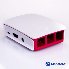 Raspberry Pi 3 Official Enclosure Box Red White