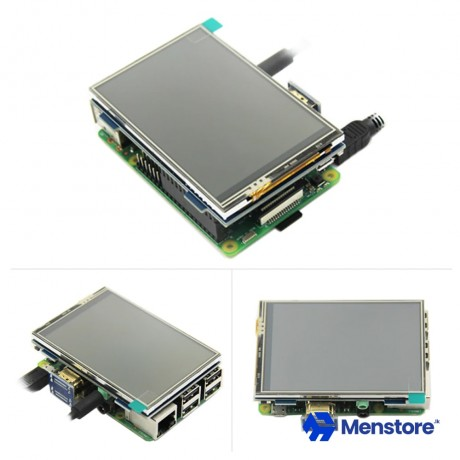 MPI3508 3.5 inch 480x320 HDMI LCD Touch Screen for Raspberry Pi