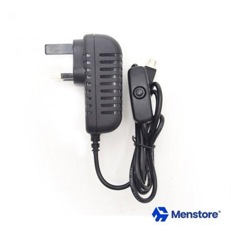 Raspberry Pi 3 Power Supply AC Adapter 5V 3A Micro USB