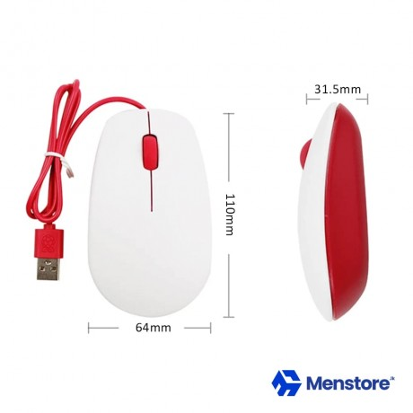 Raspberry Pi Official Mouse Made In UK