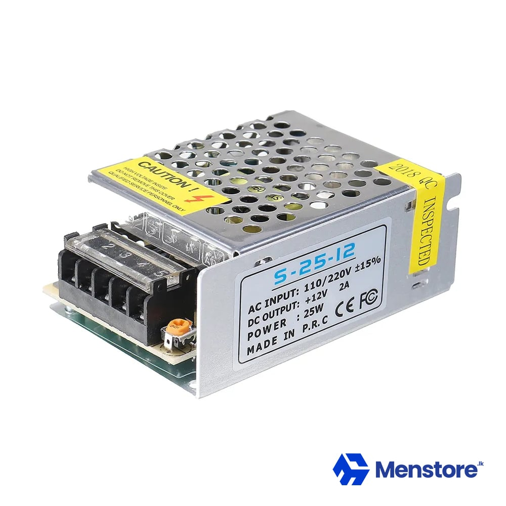 12V 2A SMPS Metal Case Power Supply