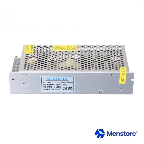 12V 10A SMPS Metal Case Power Supply