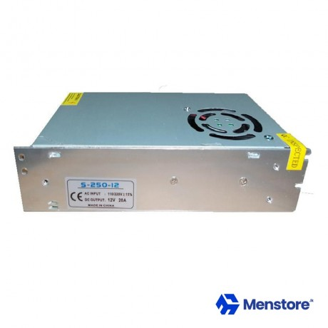 12V 20A SMPS Metal Case Power Supply
