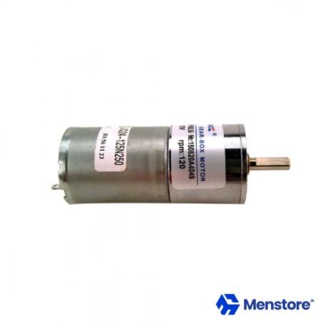 12 VDC 120 RPM ZGA25RP High Torque Gear Motor