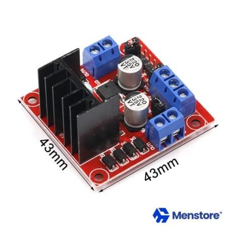 Motor Driver L298N Module DC Stepper Dual H Bridge