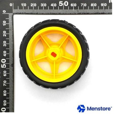 Smart Robot Car Wheels Diameter 65MM Thickness 28MM