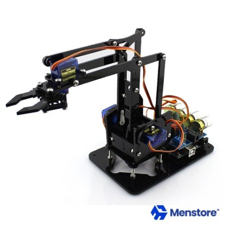 4 DOF Robot Arm Structure with Servos
