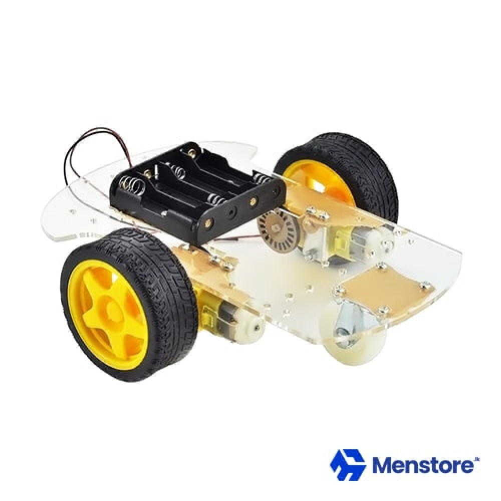 2WD Smart Robot Car Chassis DIY Kit For Smart Robot Car