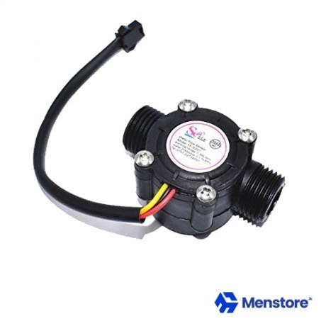 "Water Flow Sensor Flow Meter 1/2"" 1.75MPa 1-30L-Min"